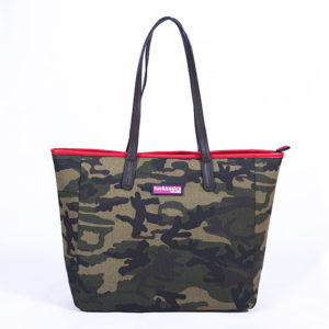 BOLSO   SHOPPER   CANVAS CAMUFLAJE